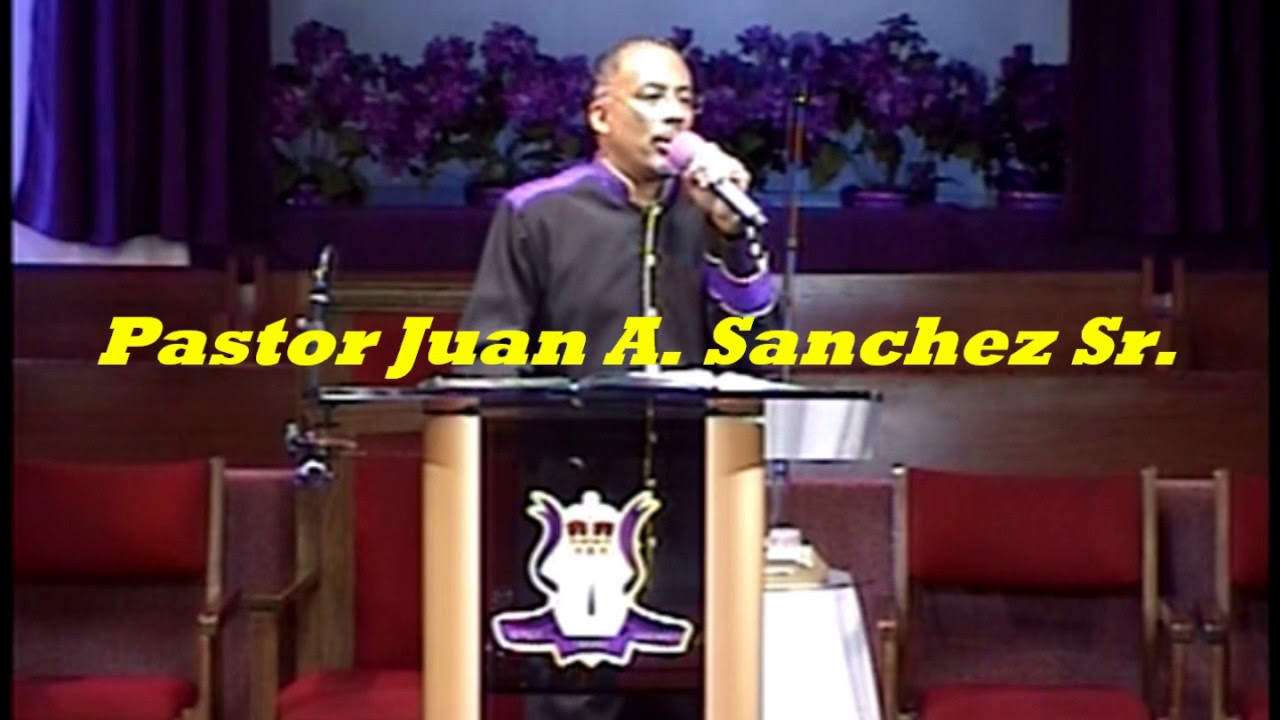 pastor juan sanchez preaching the word